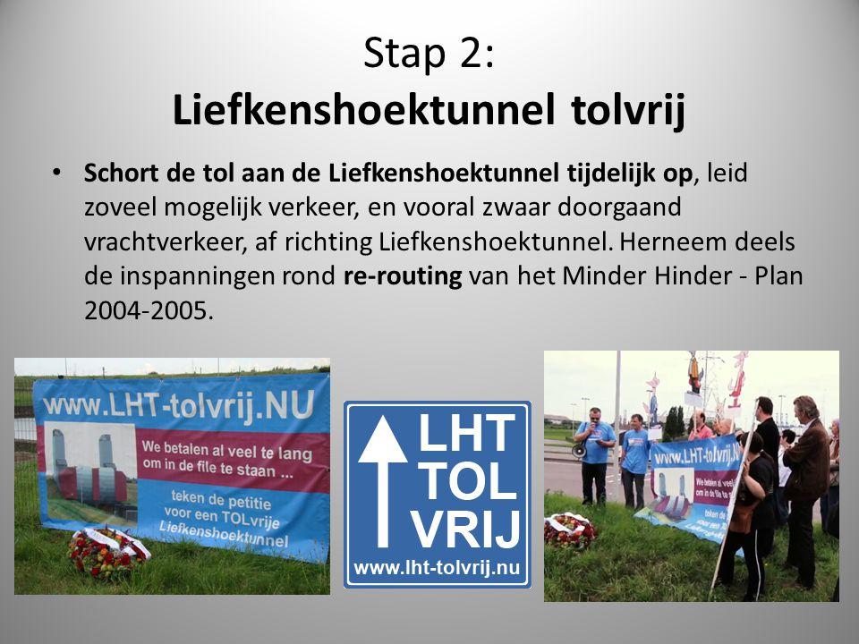 Stap 2: Liefkenshoektunnel tolvrij