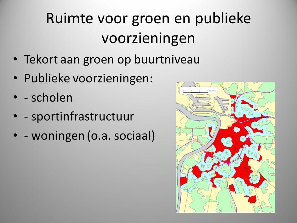Ruimte voor groen en publieke voorzieningen
