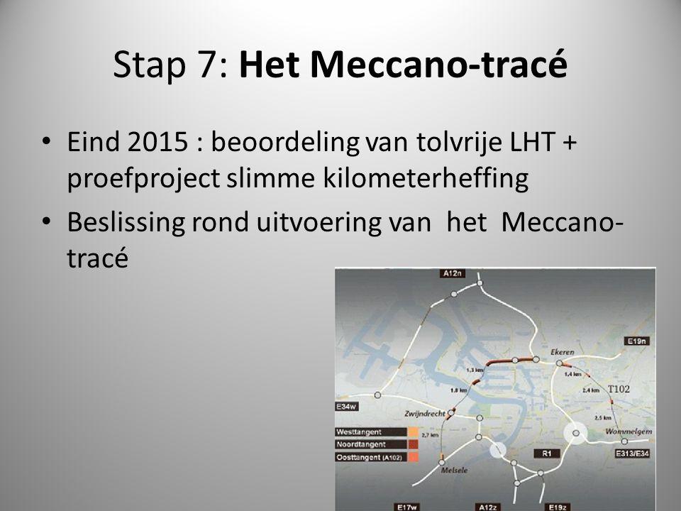 Stap 7: Het Meccano-tracé