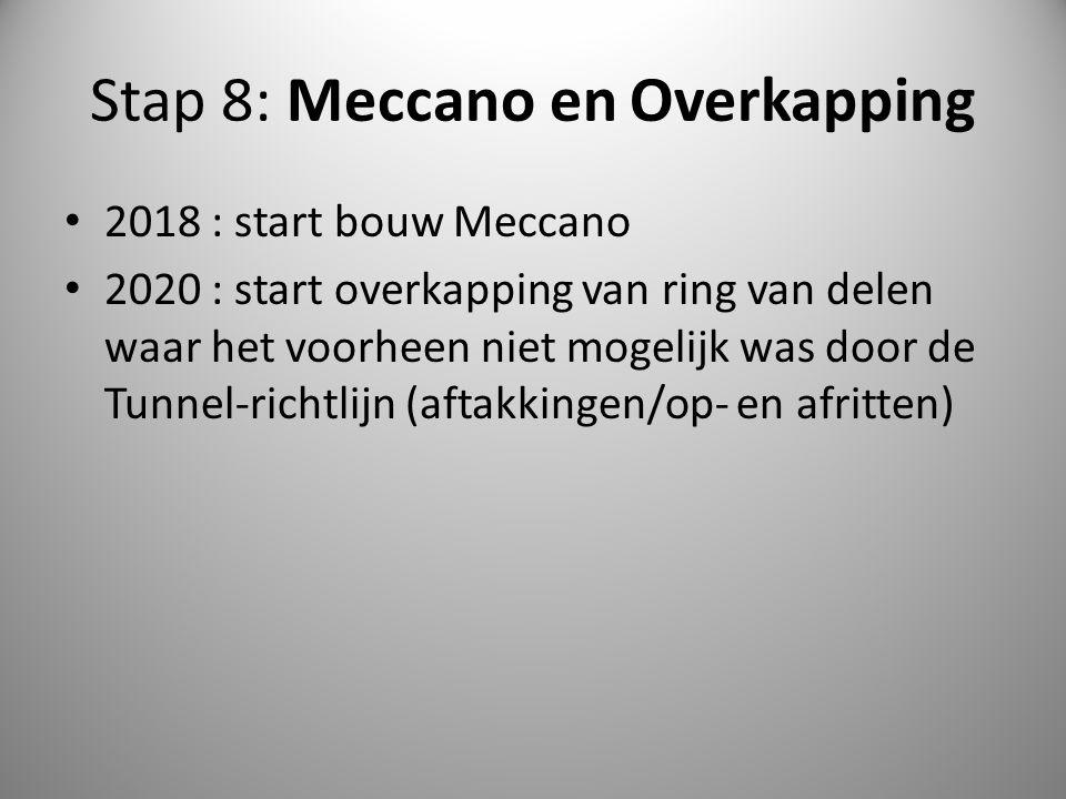 Stap 8: Meccano en Overkapping