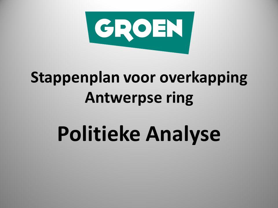Stappenplan voor overkapping Antwerpse ring