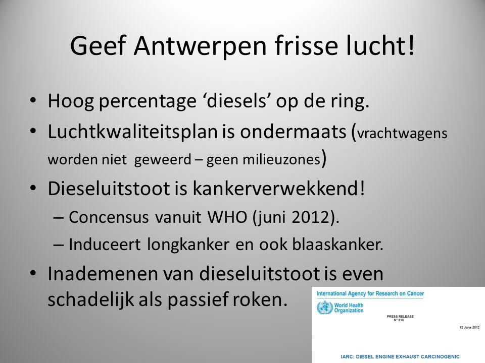 Geef Antwerpen frisse lucht!
