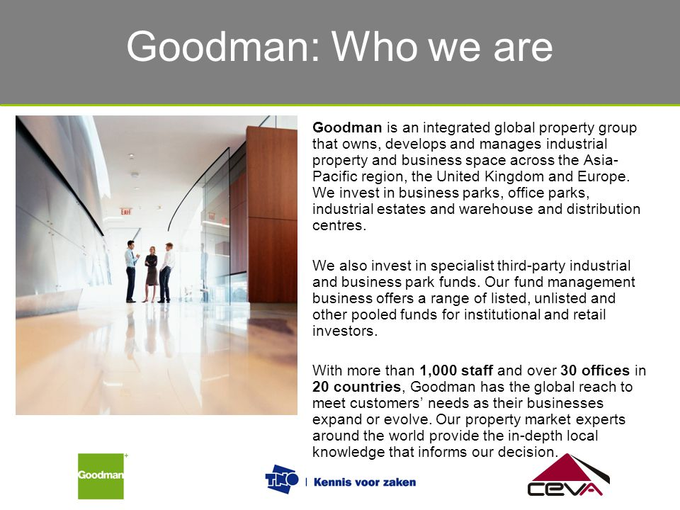 Goodman: Who we are