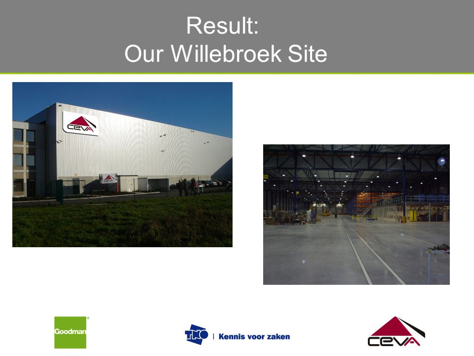 Result: Our Willebroek Site