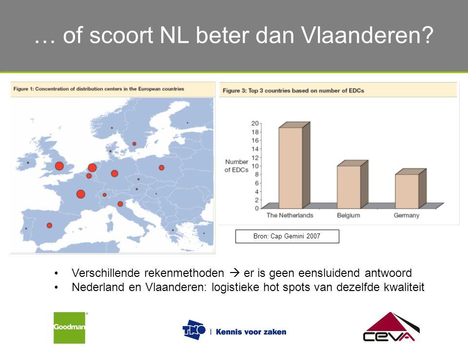 … of scoort NL beter dan Vlaanderen