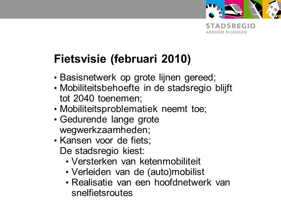 Fietsvisie (februari 2010)