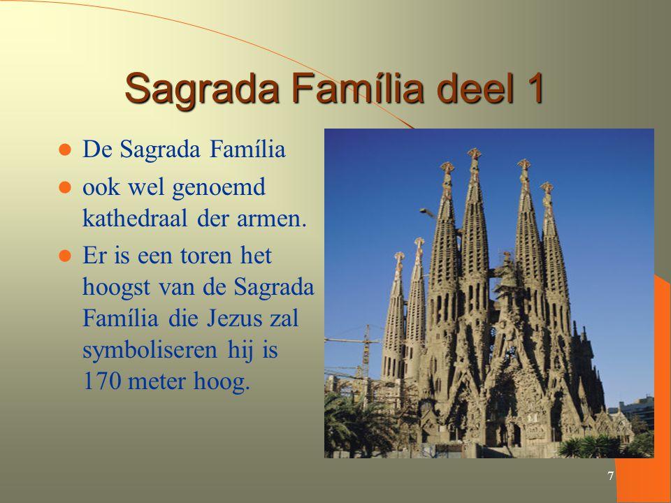 Sagrada Família deel 1 De Sagrada Família