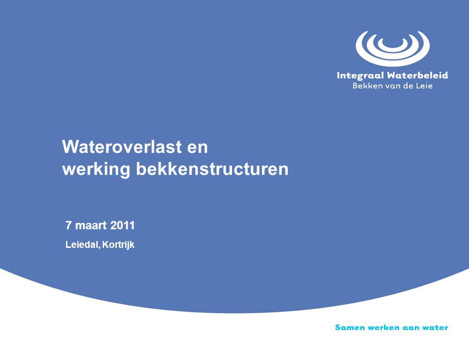 Wateroverlast en werking bekkenstructuren