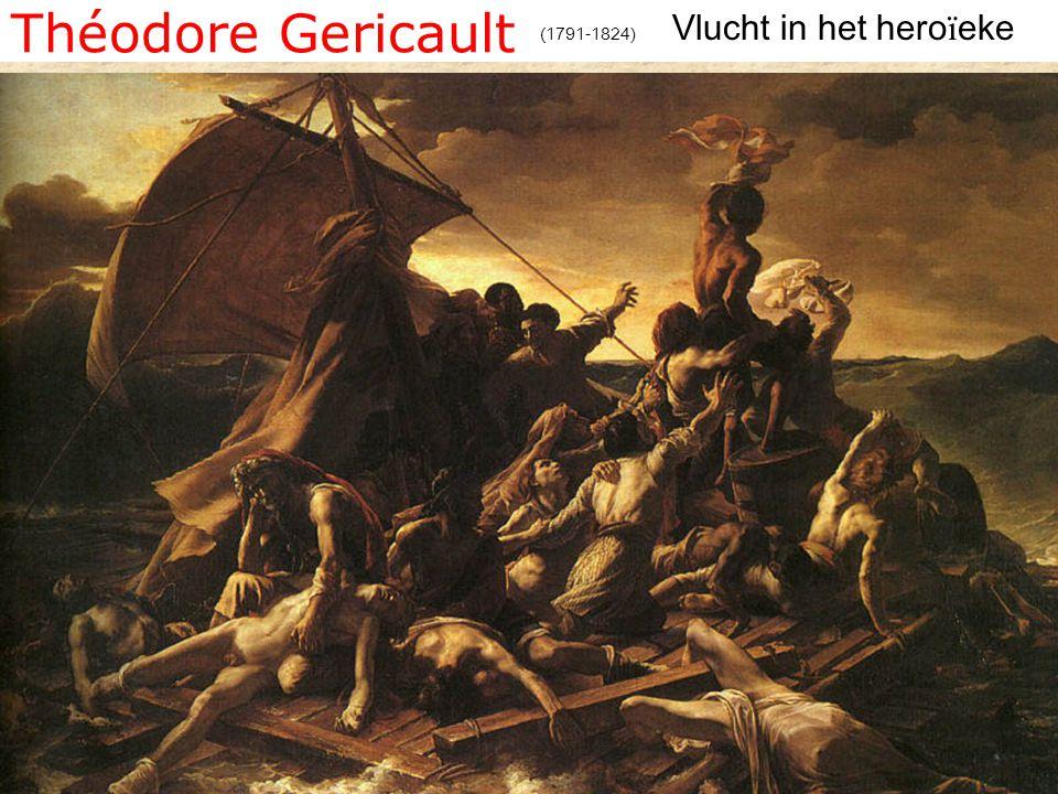 Théodore Gericault Vlucht in het heroïeke (1791-1824)