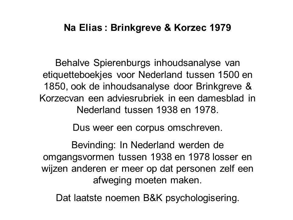 Na Elias : Brinkgreve & Korzec 1979