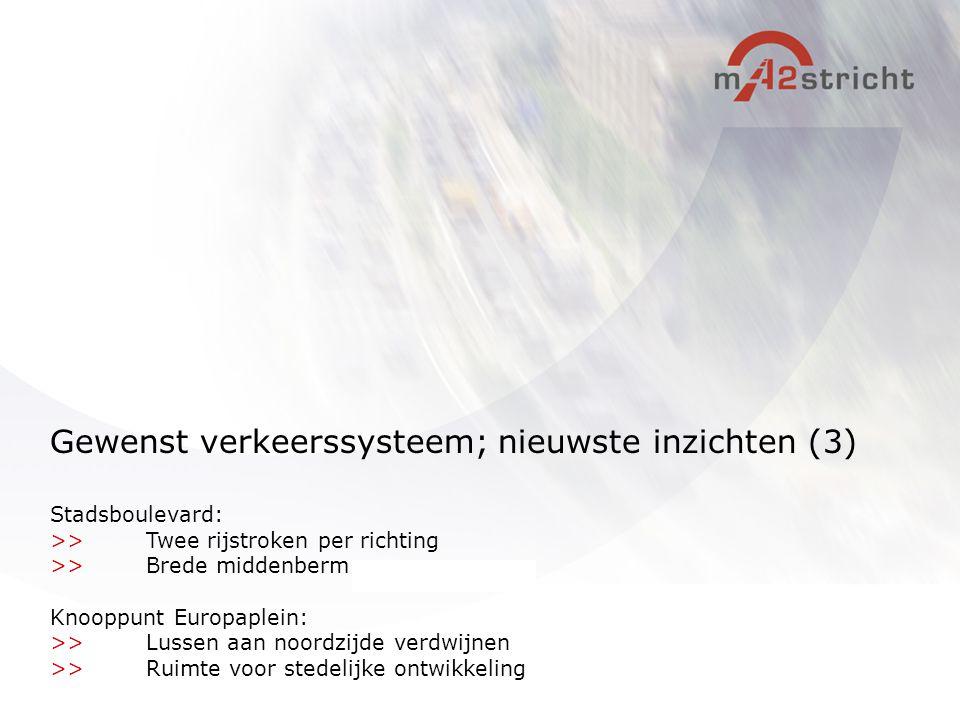 Gewenst verkeerssysteem; nieuwste inzichten (3)