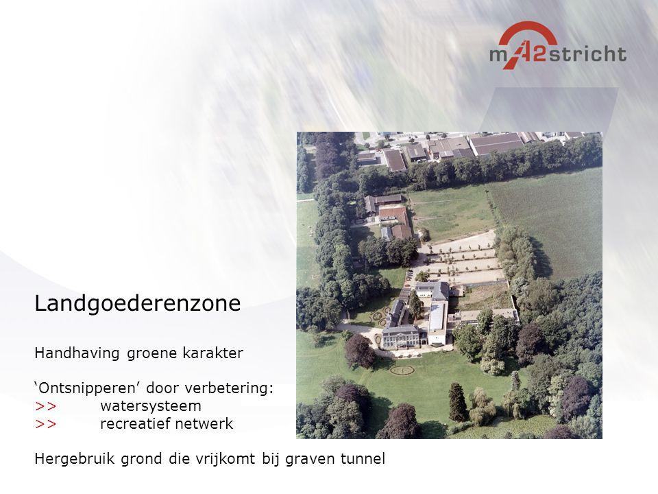 Landgoederenzone Handhaving groene karakter