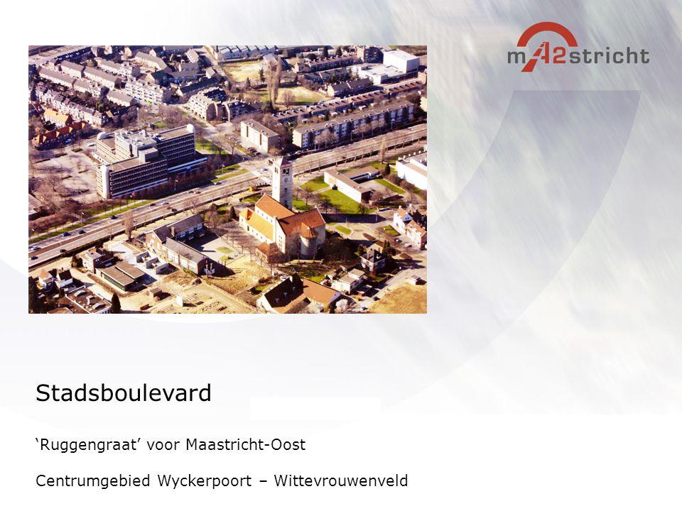 Stadsboulevard 'Ruggengraat' voor Maastricht-Oost