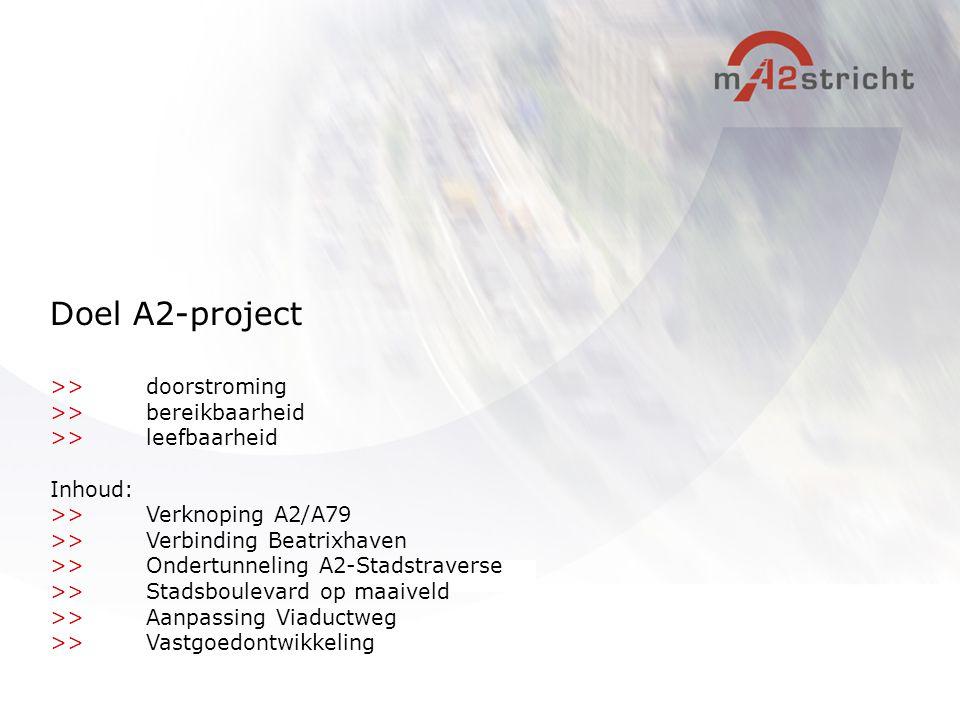 Doel A2-project >> doorstroming >> bereikbaarheid