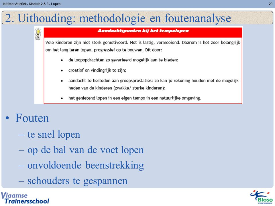 2. Uithouding: methodologie en foutenanalyse