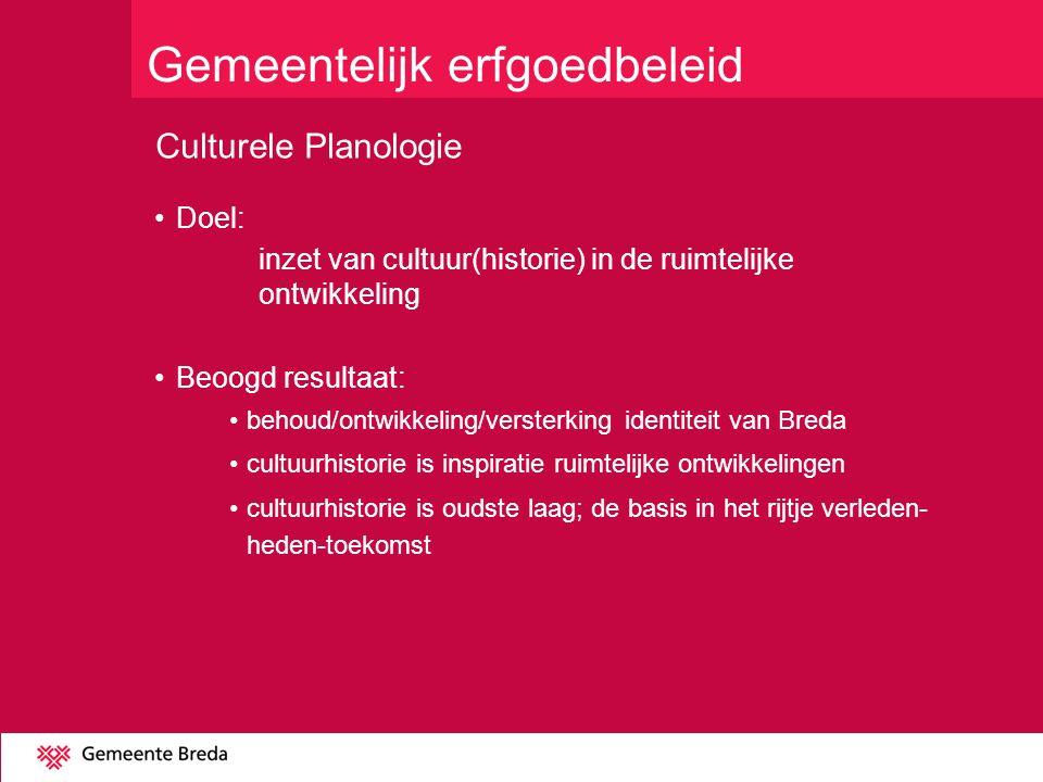 Gemeentelijk erfgoedbeleid