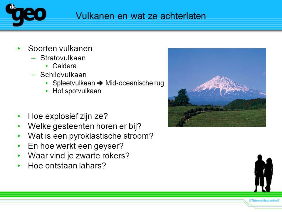 Vulkanen en wat ze achterlaten