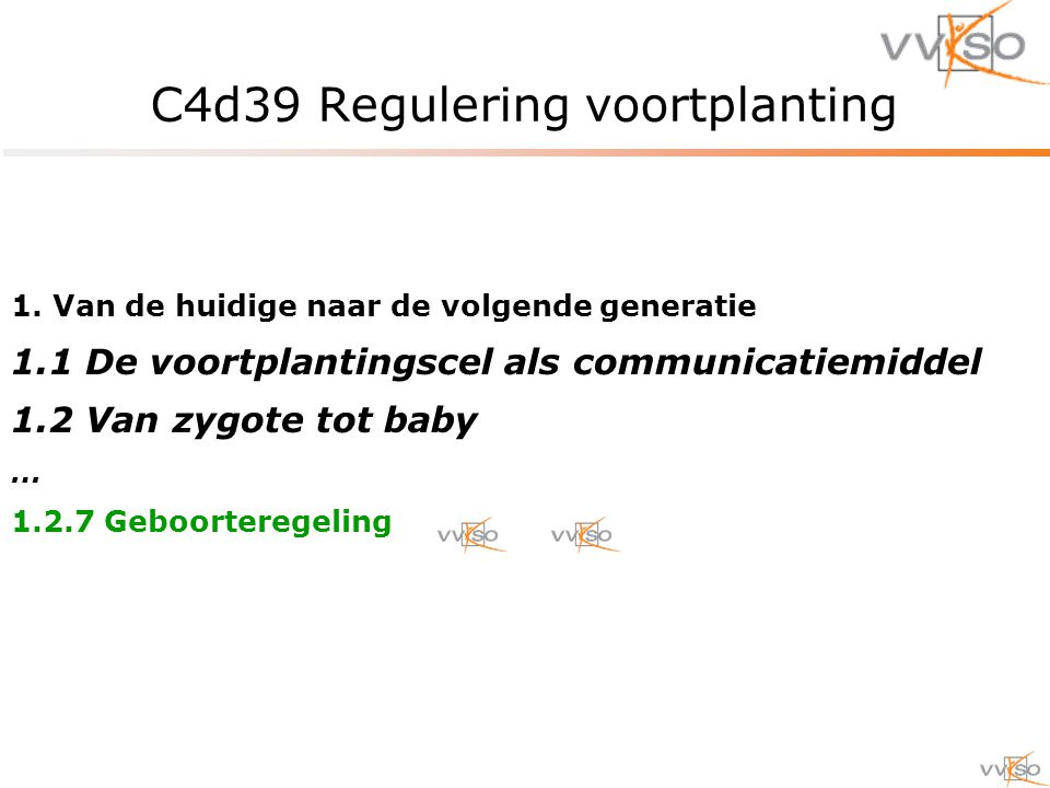 C4d39 Regulering voortplanting