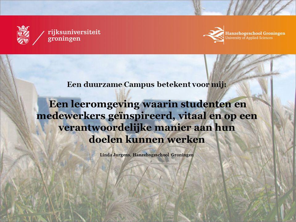 Linda Jurgens, Hanzehogeschool Groningen