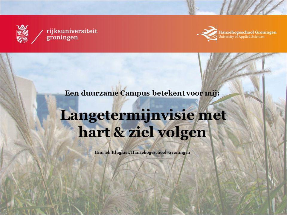 Hinrick Klugkist, Hanzehogeschool Groningen