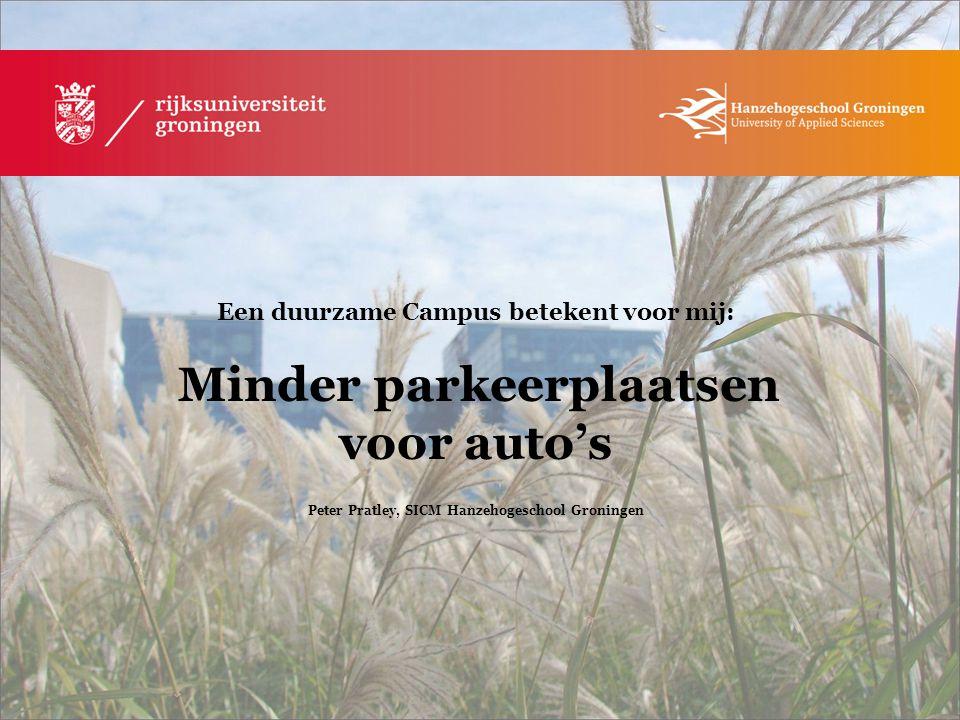 Peter Pratley, SICM Hanzehogeschool Groningen