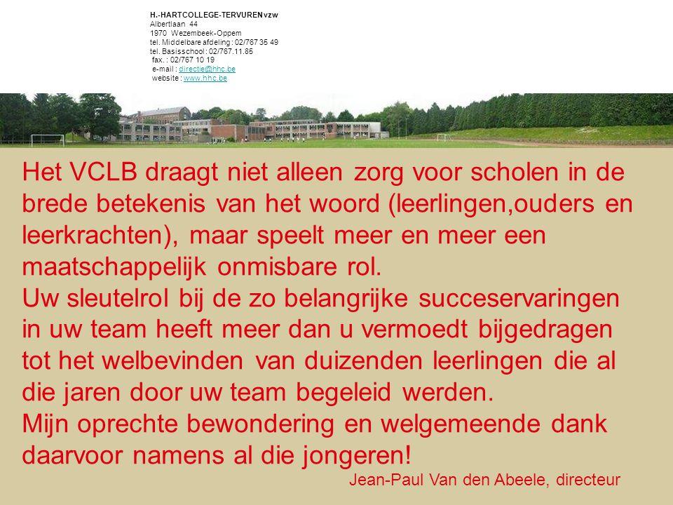 Het VCLB draagt niet alleen zorg voor scholen in de