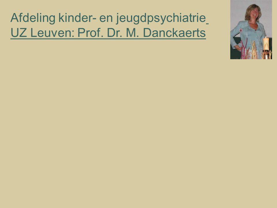 Afdeling kinder- en jeugdpsychiatrie
