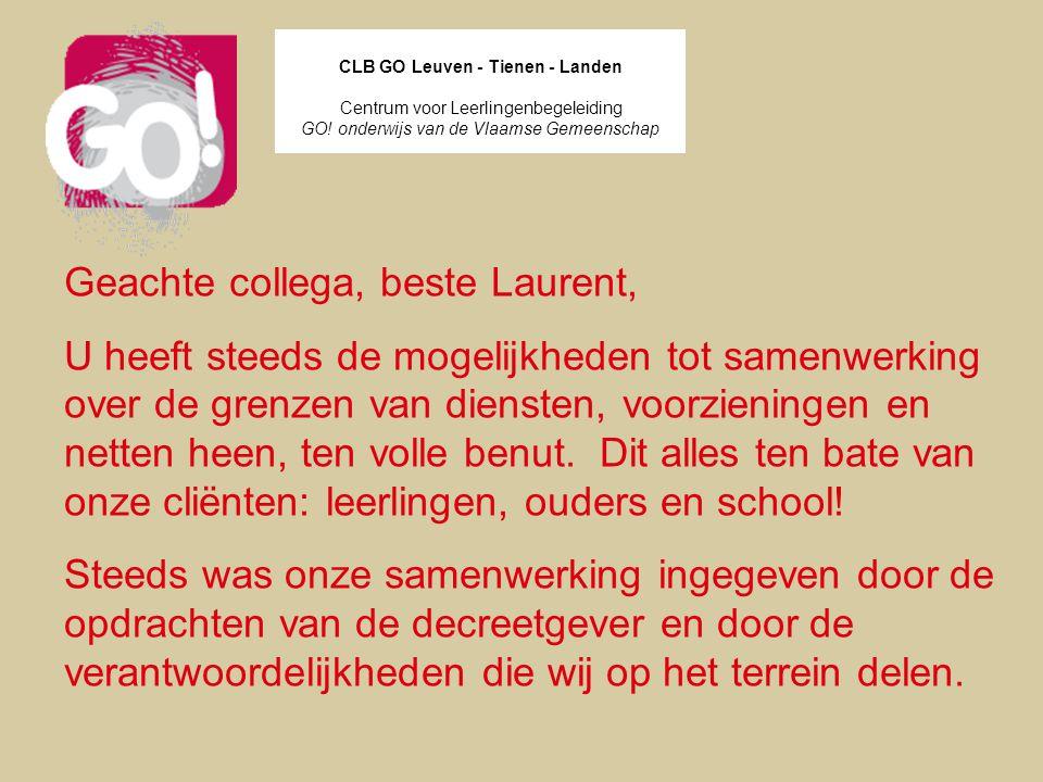 CLB GO Leuven - Tienen - Landen
