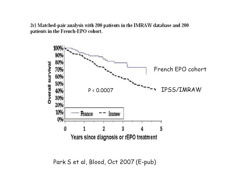 Park S et al, Blood, Oct 2007 (E-pub)