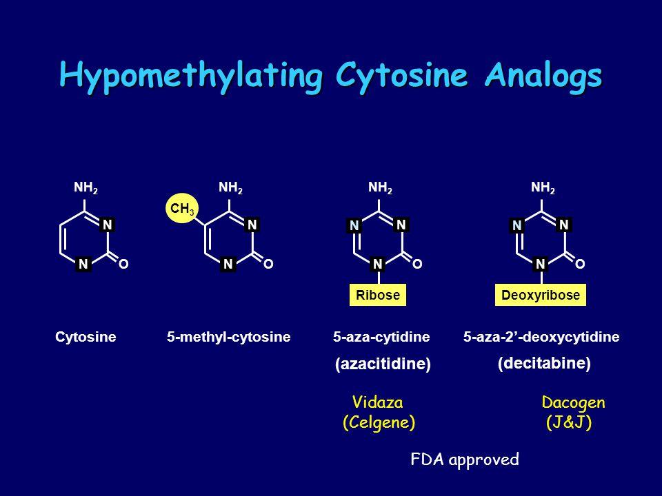 Hypomethylating Cytosine Analogs