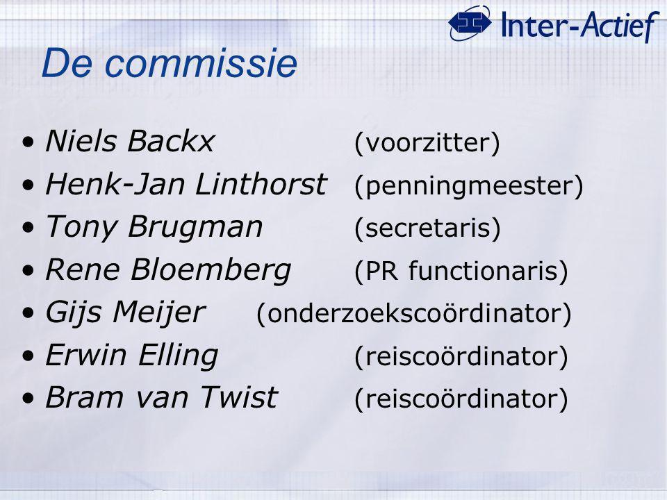 De commissie Niels Backx (voorzitter)