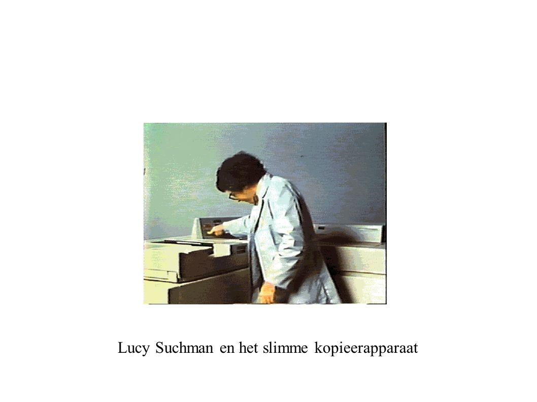 Lucy Suchman en het slimme kopieerapparaat