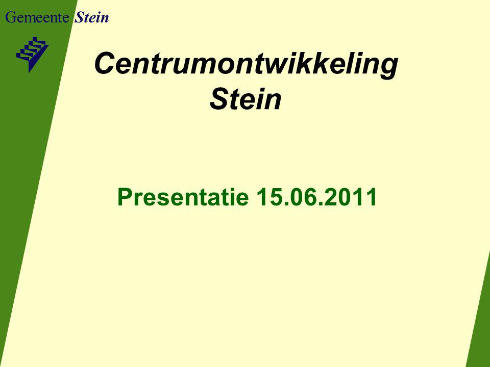 Centrumontwikkeling Stein
