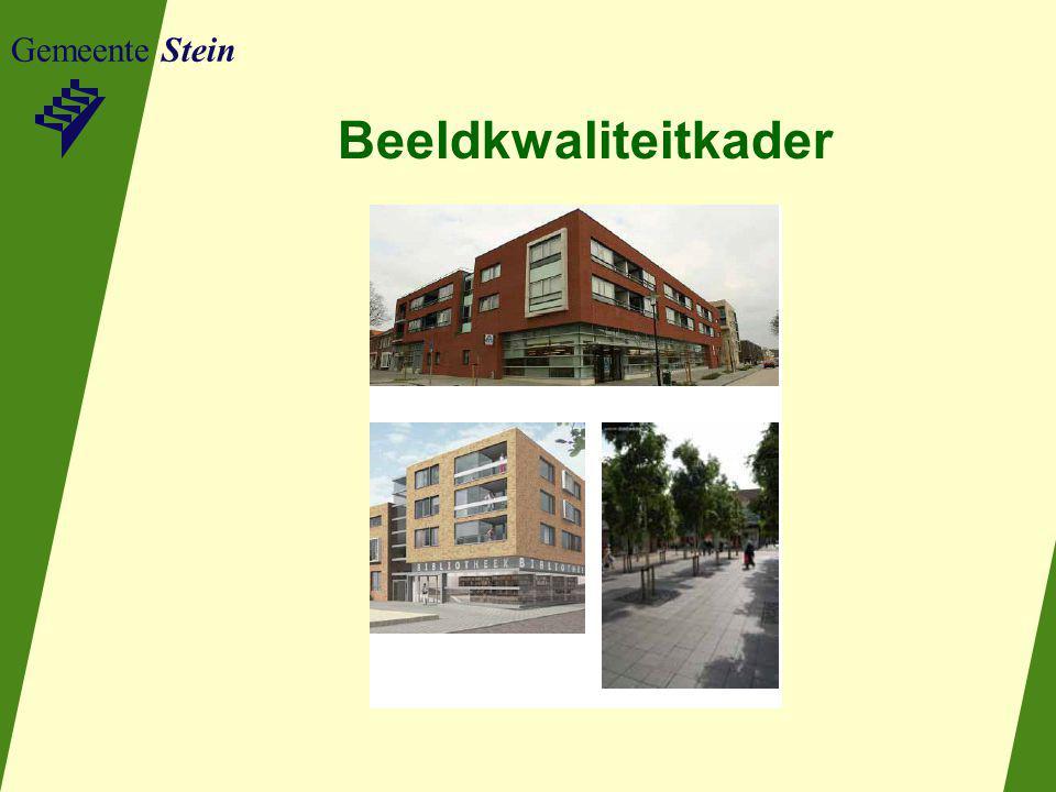 Gemeente Stein Beeldkwaliteitkader