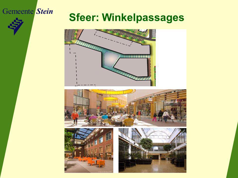 Sfeer: Winkelpassages