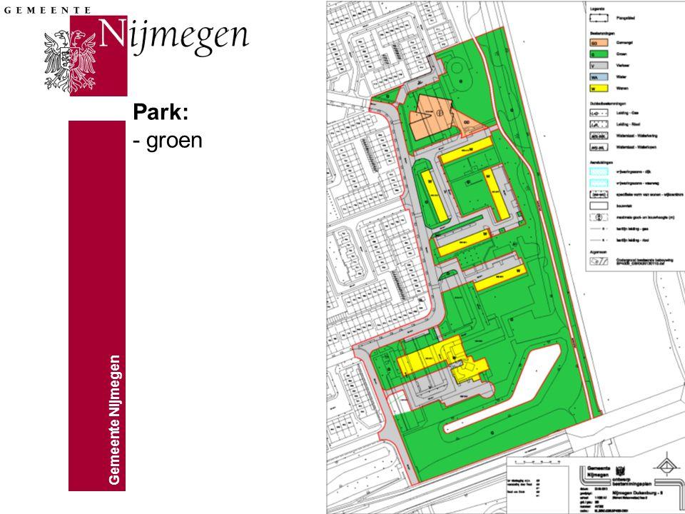 Park: - groen