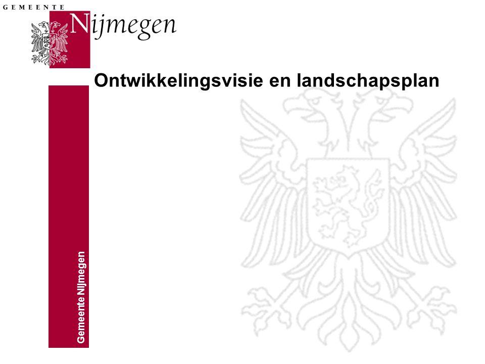 Ontwikkelingsvisie en landschapsplan