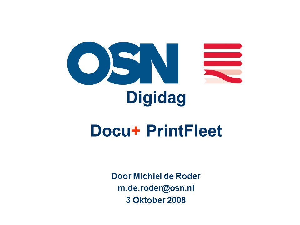 Digidag Docu+ PrintFleet