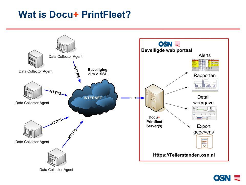 Wat is Docu+ PrintFleet