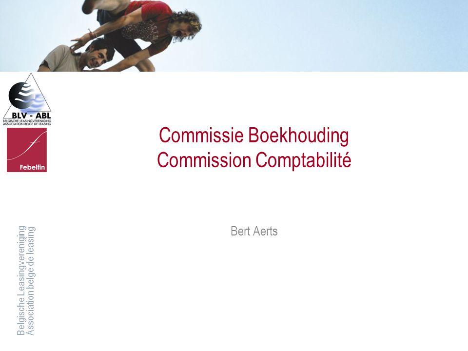 Commissie Boekhouding Commission Comptabilité