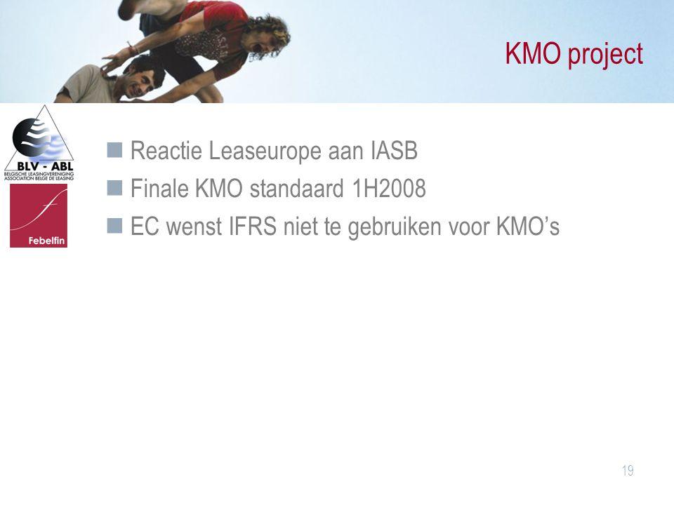KMO project Reactie Leaseurope aan IASB Finale KMO standaard 1H2008