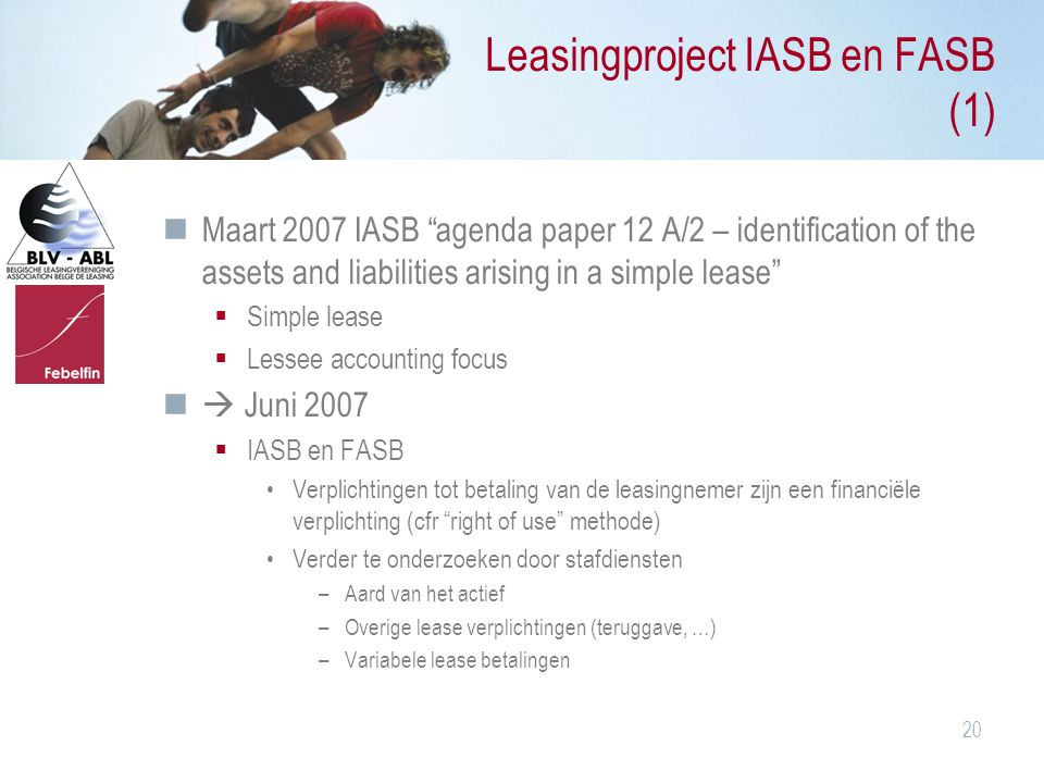 Leasingproject IASB en FASB (1)