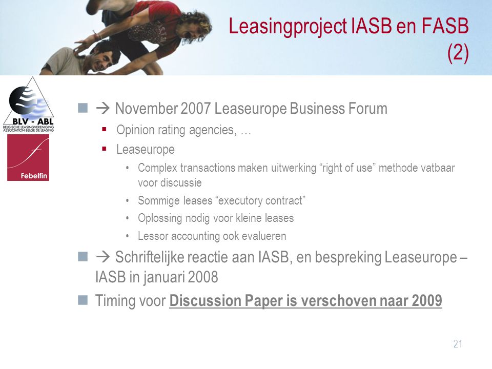 Leasingproject IASB en FASB (2)