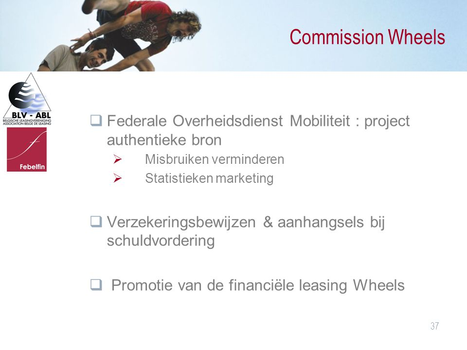 Commission Wheels Federale Overheidsdienst Mobiliteit : project authentieke bron. Misbruiken verminderen.