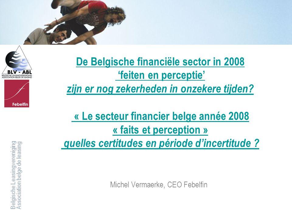 Michel Vermaerke, CEO Febelfin