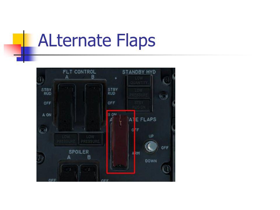 ALternate Flaps