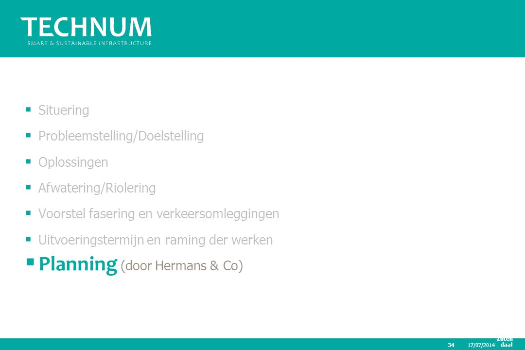 Planning (door Hermans & Co)