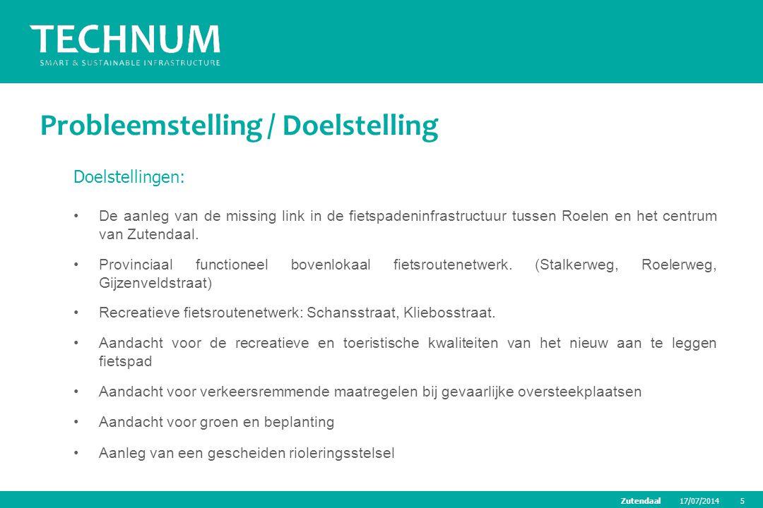 Probleemstelling / Doelstelling