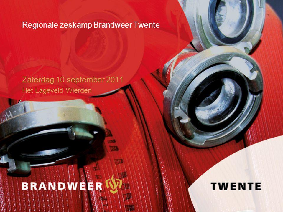Regionale zeskamp Brandweer Twente