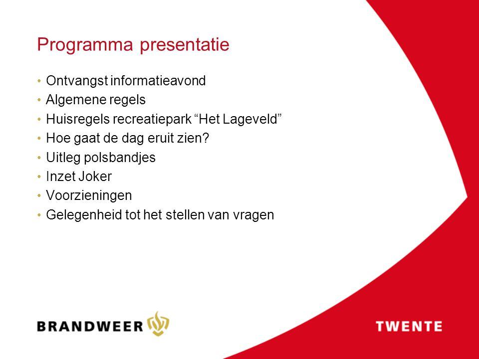 Programma presentatie